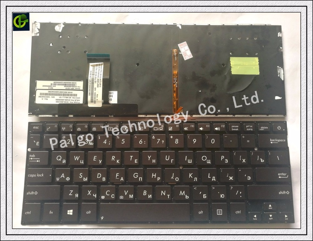 Russian Backlit Keyboard for ASUS UX32A UX32LA UX32LN UX32V UX32VD UX32 RU Laptop keyboard wtih backlit все цены