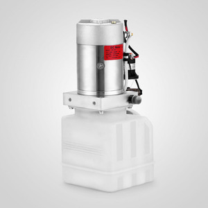Image 4 - Bomba hidráulica de acción única, 4 Quart, volcado, remolque, elevador, unidad de potencia de coche