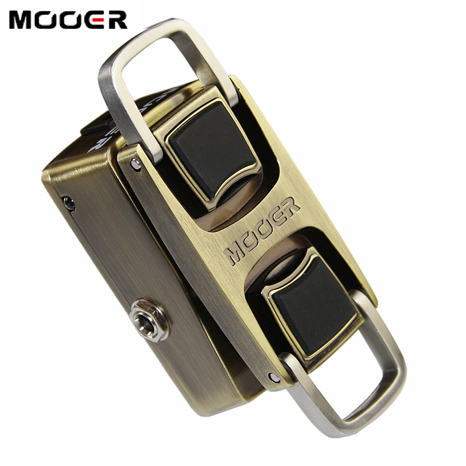 MOOER The Wahter Classic Wah Tone Guitar Pedal with High-quality Electronic Components mooer full metal shell classic the wahter wah tone guitar effect pedal
