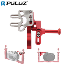 PULUZ Shutter Trigger Extension Lever Extend Mount Adapter for Underwater Tray Diving Camera Waterproof Housings Case