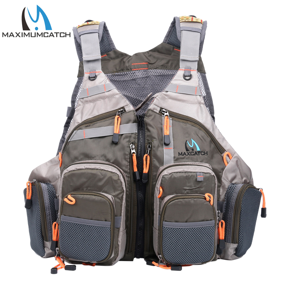Maximumcatch Top Qulity Mesh Fly Fishing Vest Fishing Back Multifunction Pockets Fishing Backpack Vest new original 24 di 16 do relay plc programmable logic controller cp1e n40dr a 100 240v