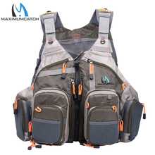 Maximumcatch Top Qulity Mesh Fly Fishing Vest Fishing Back Multifunction Pockets Fishing Backpack Vest