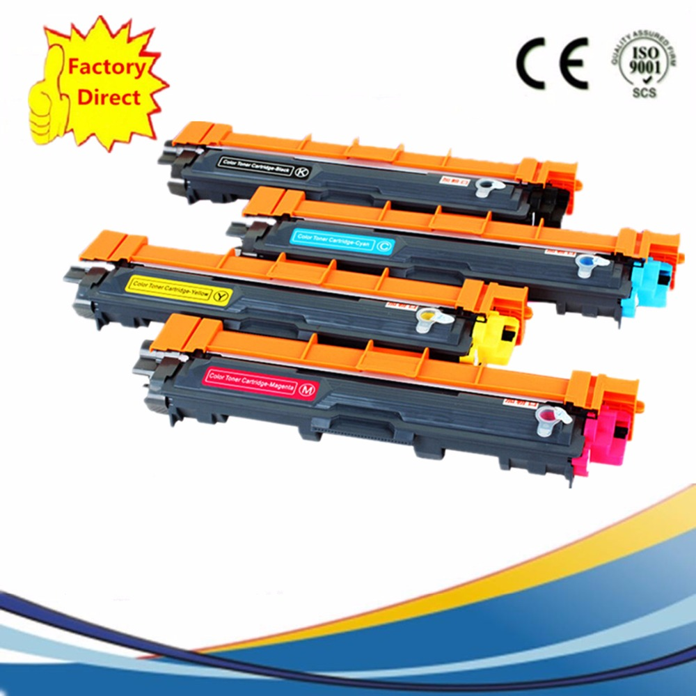 TN221 TN241 TN245 TN251 TN261 TN281 TN291 Laser Color Toner Cartridge Replacement For Brother MFC9130 9140CDN MFC9330 9340CDW