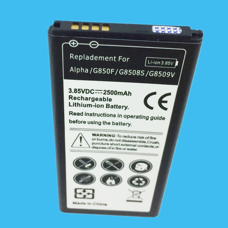 1PC Replacement Battery 2500mah For font b Samsung b font Galaxy Alpha G850F High Quality