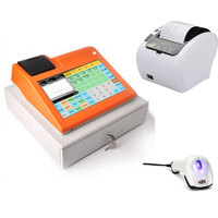 IssyzonePOS Free Software All in One POS Machine Cash Register Touch Screen With Cash Drawer Thermal printer Barcode Scanner