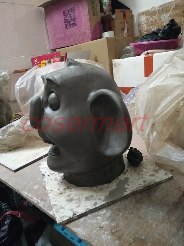 2016 Movie Sing Cosplay Buster Moon Latex  Mask Koala Animal Mask Halloween Party (2)_