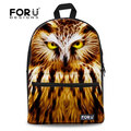 Most popular 3D owl backpack Children travel preppy backpack for women large capacity girls backpack back pack free shipping