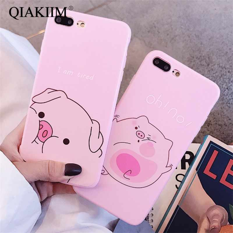 Linda funda para iphone x XS carcasa para Max XR para iphone 6 6s 7 8 plus funda moda Funny Nose TPU Fundas blandas