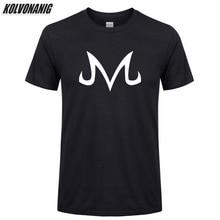 2019 New Dragon-Ball Z Majin Babidi Logo Prinited T Shirts Men Fashion Cotton Short Sleeve O-Neck Tee Shirt Tops Size XS-3XL