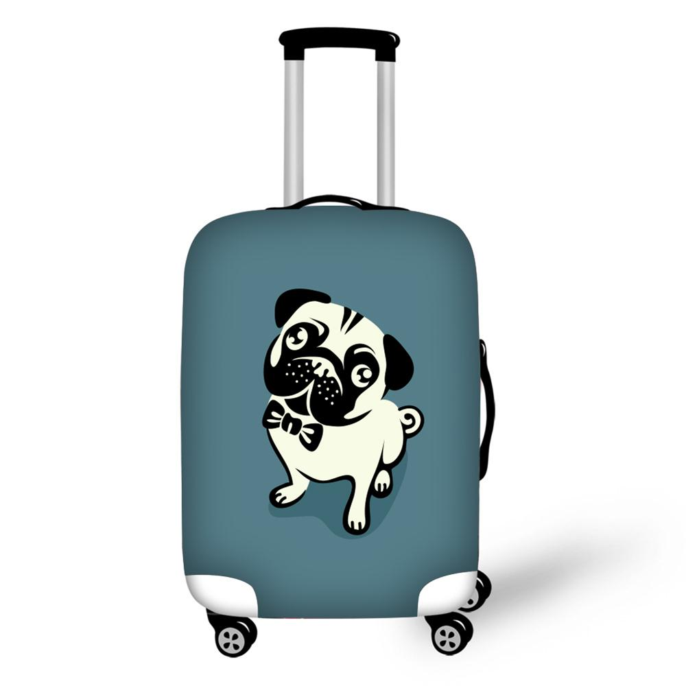 Elastic Luggage Protective Cover For 18-30 inch Trolley Suitcase Protect Dust Bag Case Child Cartoon Travel Accessories