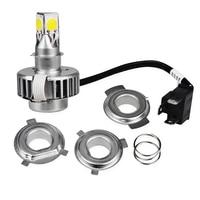 H6 H4 Led Motorcycle Headlight Lamp Bulb DC12v Motorbike Headlight Bulbs H4 Ba20d Led Motorcycle Headlight