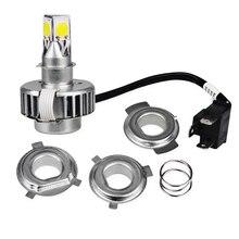 H6 H4 Led Motorcycle Headlight Lamp Bulb DC12v Motorbike Headlight Bulbs H4 Ba20d Led Motorcycle Headlight Hi Lo Beam Moto Light