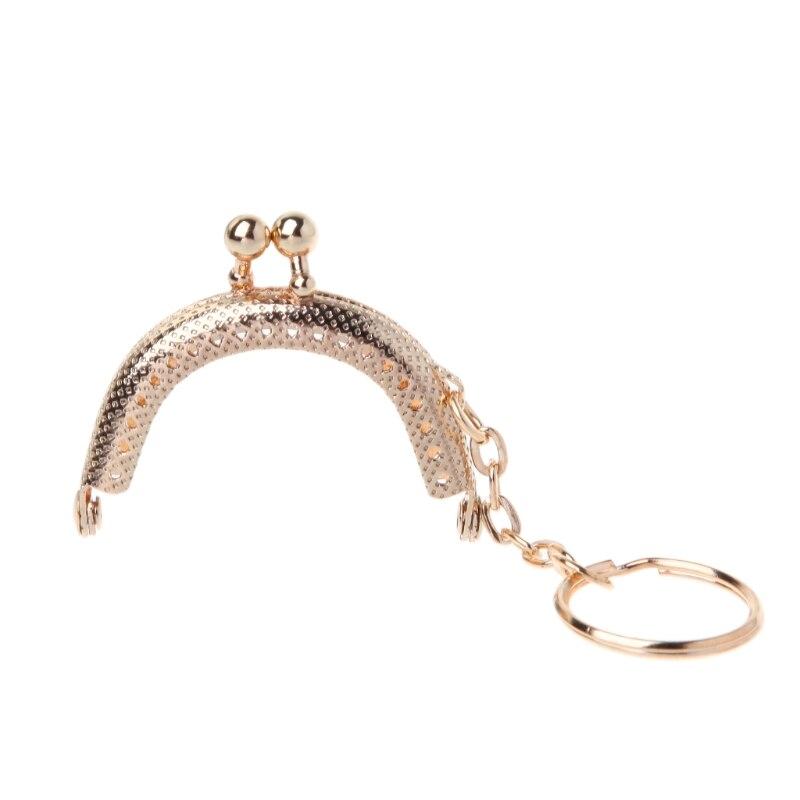 1PC Arch Purse Coin Bag Stylish Metal Frame Kiss Ball Clasp Key Chain 5cm1PC Arch Purse Coin Bag Stylish Metal Frame Kiss Ball Clasp Key Chain 5cm