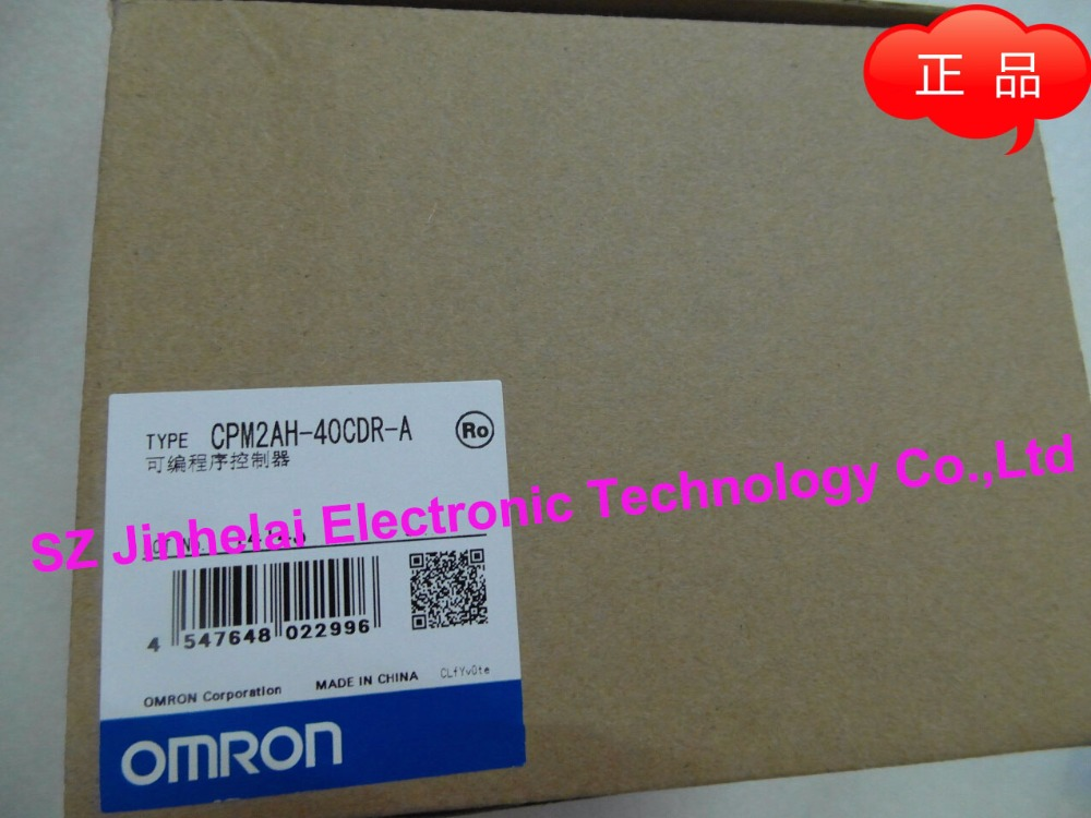 New and original  CPM2AH-40CDR-A OMRON   PLC [zob] 100% new original omron omron proximity switch e2e x10d1 n 2m
