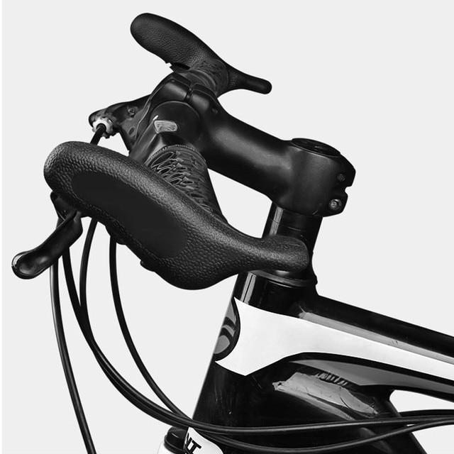 2 יחידות אופניים Handleb אופניים כיסוי סגן כדי MTB אופני סגן בר אופניים כידון עזר קטן מרוצי אופני אביזרים