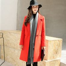 Coats Direct Selling Full Solid Slim Casual Turn down Collar No 2017 Coat All match Korean