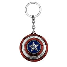 พันธมิตร Avengers Super hero Keychain Iron Man กัปตันอเมริกา Star Wars Spider - man ลูกศร Superman Shield Batman Key Chain แหวน(China)
