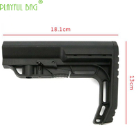 PB Playful bag Nylon MFTPLAY rear butt butt water bullet gun accessories blaster BD556 MK18 CAA/MFTPLAY/CTR tactics