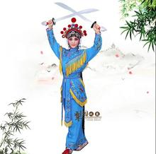 Peking Opera clothing stage costumes daomadan female Soldiers clothing TV movie Stage Woman General Outfit Sichuan Yue Kun Opera цена 2017