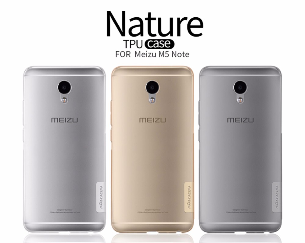 Meizu M5 Note NILLKIN Nature Series Case cover for Meizu M5 Note 5 5.5 inch Luxury Soft Silicone TPU Phone Back Covers