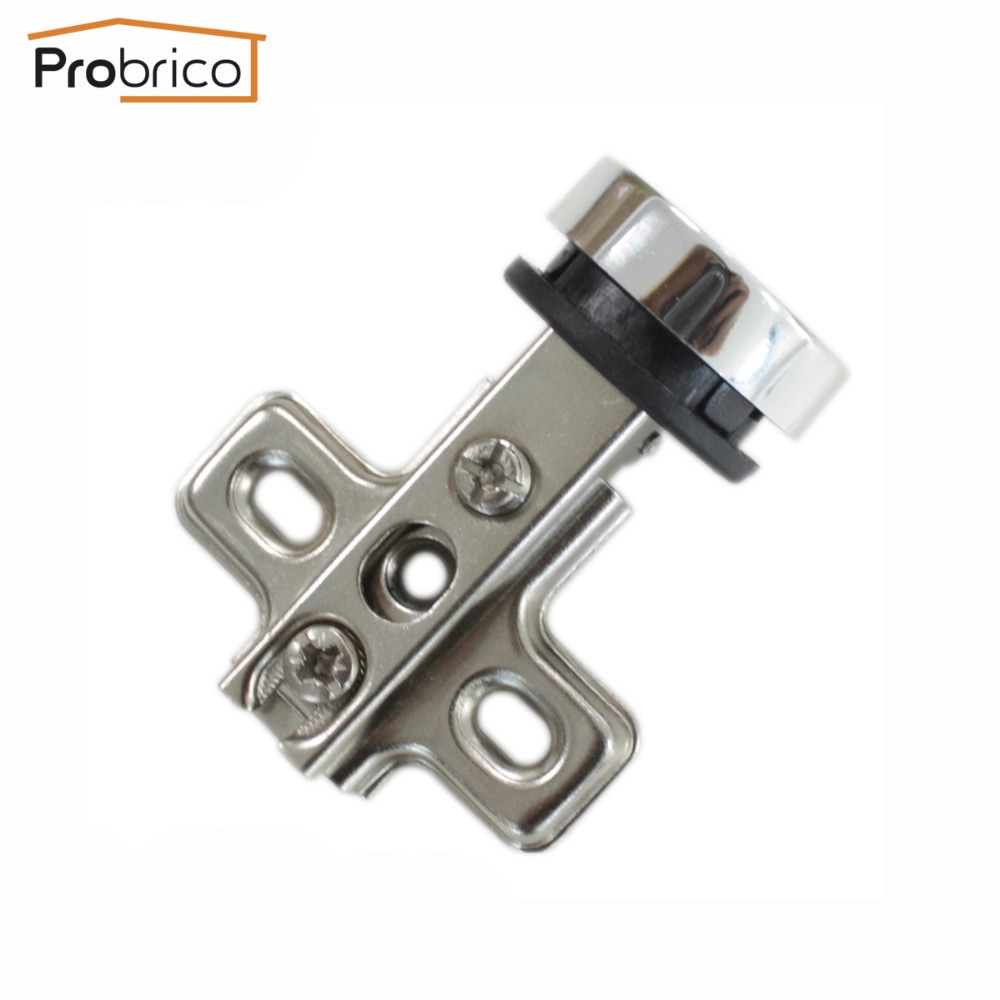 Probrico 20 Pair Furniture Glass Cabinet Door Hinge