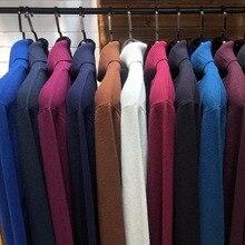 8 צבעים חורף גברים של גולף סוודר 2020 חדש אופנה מזדמן עבה חם באיכות גבוהה בסוודרים מצולע סוודר מותג בגדים