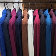 8 kolorów zimowy męski sweter z golfem 2020 New Fashion Casual gruby ciepły sweter wysokiej jakości prążkowany sweter markowe ciuchy