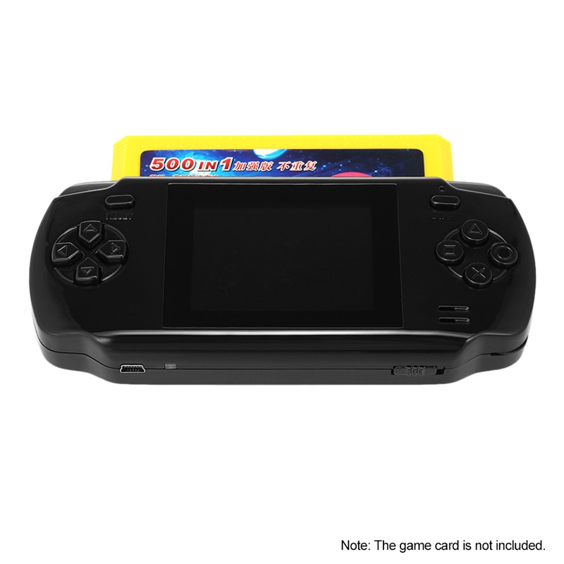 Image 5 - Powkiddy S600 2.8 Inch Game Console Built In 68 Classic Games 8 Bit Av Out Video Handheld Gamepad Black Newest-in Handheld Game Players from Consumer Electronics