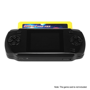 Image 5 - Powkiddy S600 2.8 Inch Game Console Built In 68 Classic Games 8 Bit Av Out Video Handheld Gamepad Black Newest