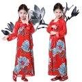 Criança Traje Tradicional Chinesa Hanfu Menina Vestido Imperatriz Wu Zetian Cosplay Dança Roupas Criança Traje Chinês Antigo 18