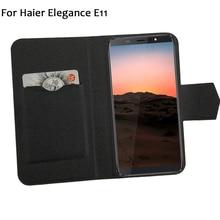 5 цветов хит! Haier Elegance E11 чехол для телефона кожаный чехол, заводская цена защитный полный Флип Стенд кожаный чехол для телефона s