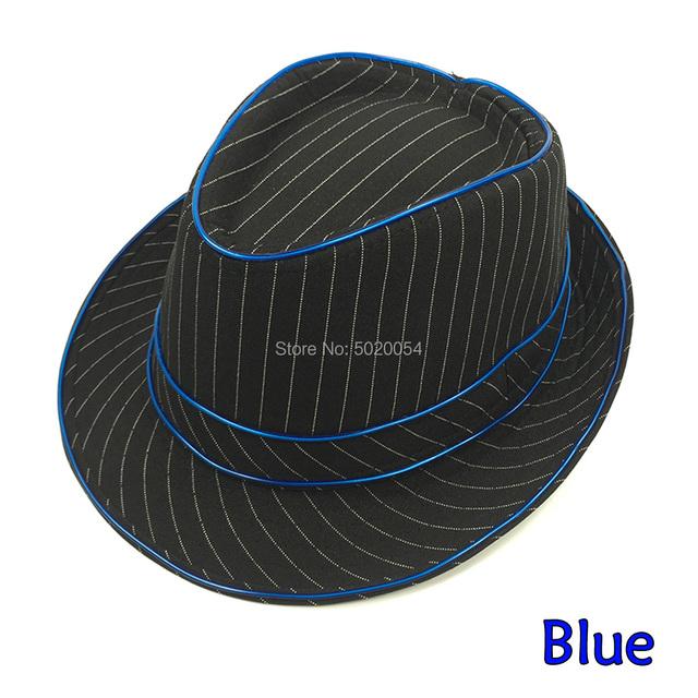 Fashion EL Wire Baseball Caps Gorras Led Luminous Hip Hop Cap Summer Spring Light Up Glowing Hat For Men Women