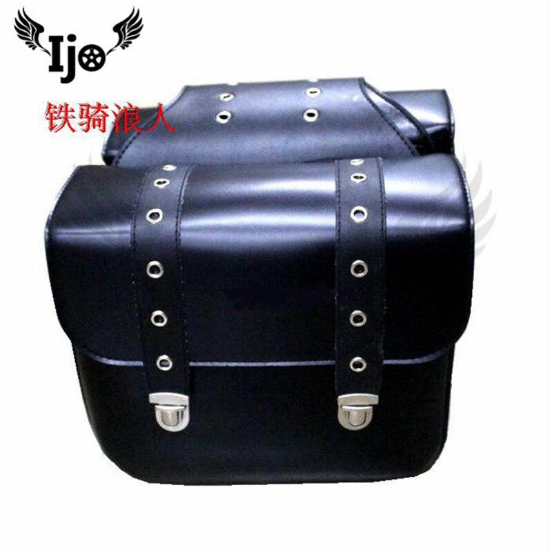 maletero moto saddle bag for Vespa benelli harley softail motas malas saddlebag motorcycle bag tank bag maletas moto saddlebag