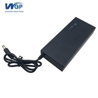 High quality uninterruptible power supply 9V 3A online mini dc ups with 18650 lithium battery backup
