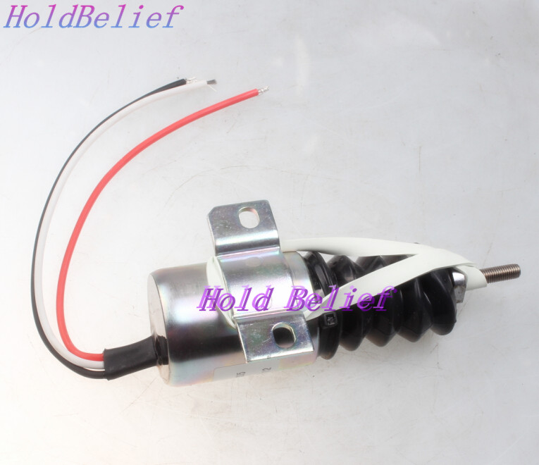 Holdwell Diesel Shut Down Solenoid SA 3978 1751ES 12E2UC3B2S5 for Woodward 12V 3 Wires 3 wire solenoid wiring turcolea com woodward solenoid 1751es wiring diagram at mr168.co