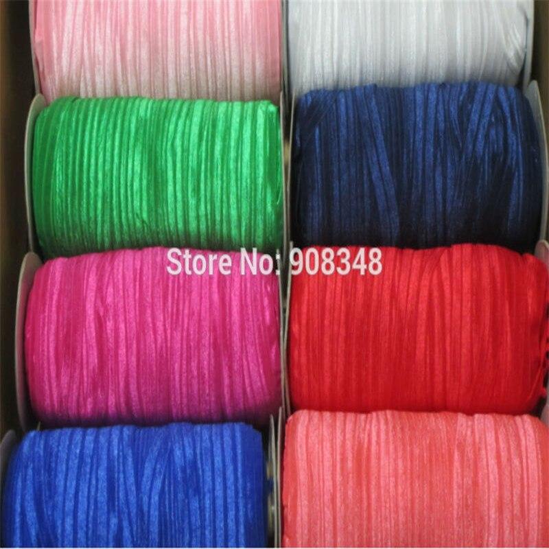 """5/8 """"16mm 80 colores color sólido Foe medio doblado sobre cinta elástica bandas para el cabello banda para el cabello accesorio de F016-in Cintas from Hogar y Mascotas    3"""