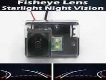цена на 1080P Fisheye LensTrajectory Tracks Car Rear view Camera for Peugeot 206 207 306 307 Sedan 308 406 407 5008 Partner Tepee