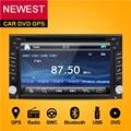 2 Din Dvd-плеер Автомобиля Монитор Universal Автомобильный Радиоприемник GPS Авто 3 Г USB BT IPOD RDS FM В Тире ПК Автомобиля Стерео Аудио-видео Камера Для VW