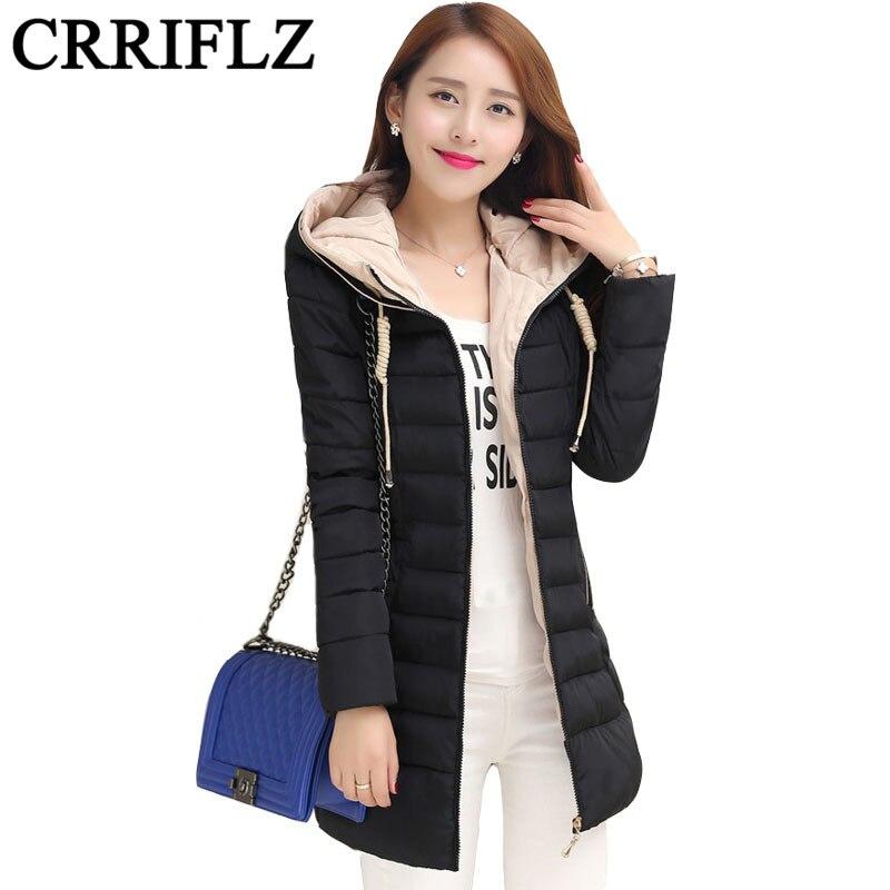 ФОТО Winter Jacket Women 2016 New Fashion Wadded Jacket Women Winter Coat Down Cotton Coat Slim Parkas Womens Jackets And Coats IF148