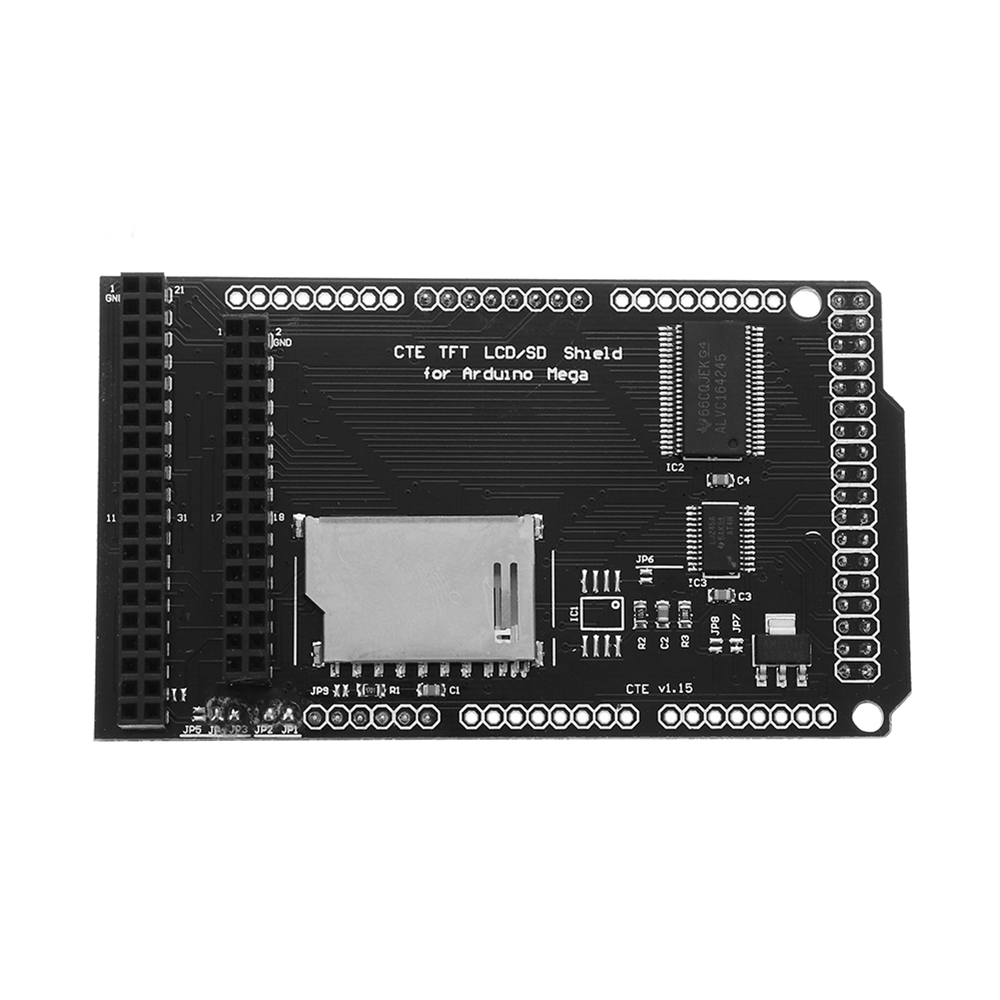 TFT/SD Shield Expansion Board for Arduino MEGA 2560 LCD Module SD Card 2.8 3.2 Inch FreeshippingTFT/SD Shield Expansion Board for Arduino MEGA 2560 LCD Module SD Card 2.8 3.2 Inch Freeshipping