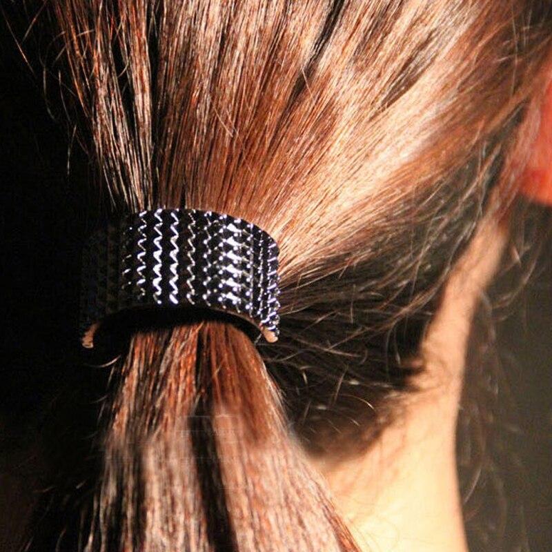 2016 уникальные Дизайн модные новинка, оптовая продажа золотые украшения Цвет с заклепками в стиле панк Hairbands Женские аксессуары для волос T28