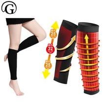 dc5e5161b019c1 PRAYGER New Slimming Legs Shaper Women Control Calfs Varicose Veins Shaper  Massage Legs Compression Brace Wrap