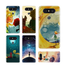 Lovely the Little Prince fox Phone Cases For LG V40 G6 G7 Q6 Q8 Q7 G5 G4 V30 V20 V10 K8 K10 2018 2017 Covers Coque Shell the wolf fierce phone cases for lg v40 g6 g7 q6 q8 q7 g5 g4 v30 v20 v10 k8 k10 2018 2017 covers coque shell