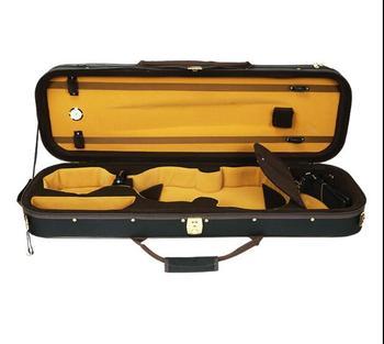 Black  High-grade violin case1/8   1/4  1/2  3/4   4/4   lightweight waterproof shockproof back can be