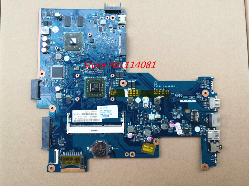 Original 764269-501 for HP 15 15-G laptop motherboard ZSO51 LA-A996P with graphic chipset 100% tested zso стандарт