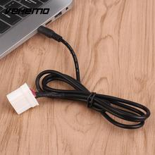 Vehemo Car 3.5mm Cable Cord AUX CD For Mazda 3 Vehicle Data Lead Connector New