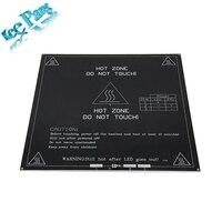 Free Shipping 3D Printer Heatbed Heat Bed MK3 Standard Aluminum Plate 3mm Hot Bed Reprap
