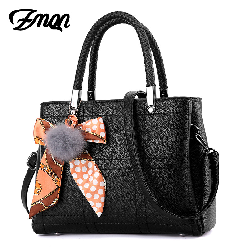 Bolsas Femininas Fashion Designer Handbags For Women Crossbody Bags 2017 Soft Leather Tote Hand Black Shoulder Bag Female A836 handbags women trapeze bolsas femininas sac lovely monkey pendant star sequins embroidery pearls bags pink black shoulder bag