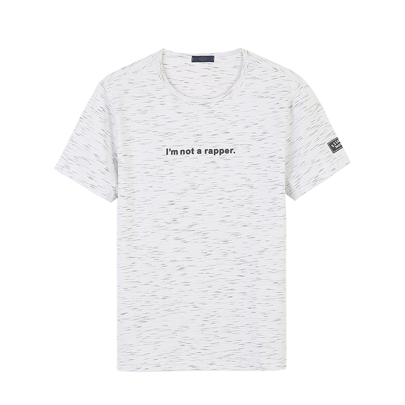 Nisexper Men Brand Clothing Man Meteor shower Printed T-shirts Cotton T Shirts Mens T-shirt Men Summer Tee Shirt
