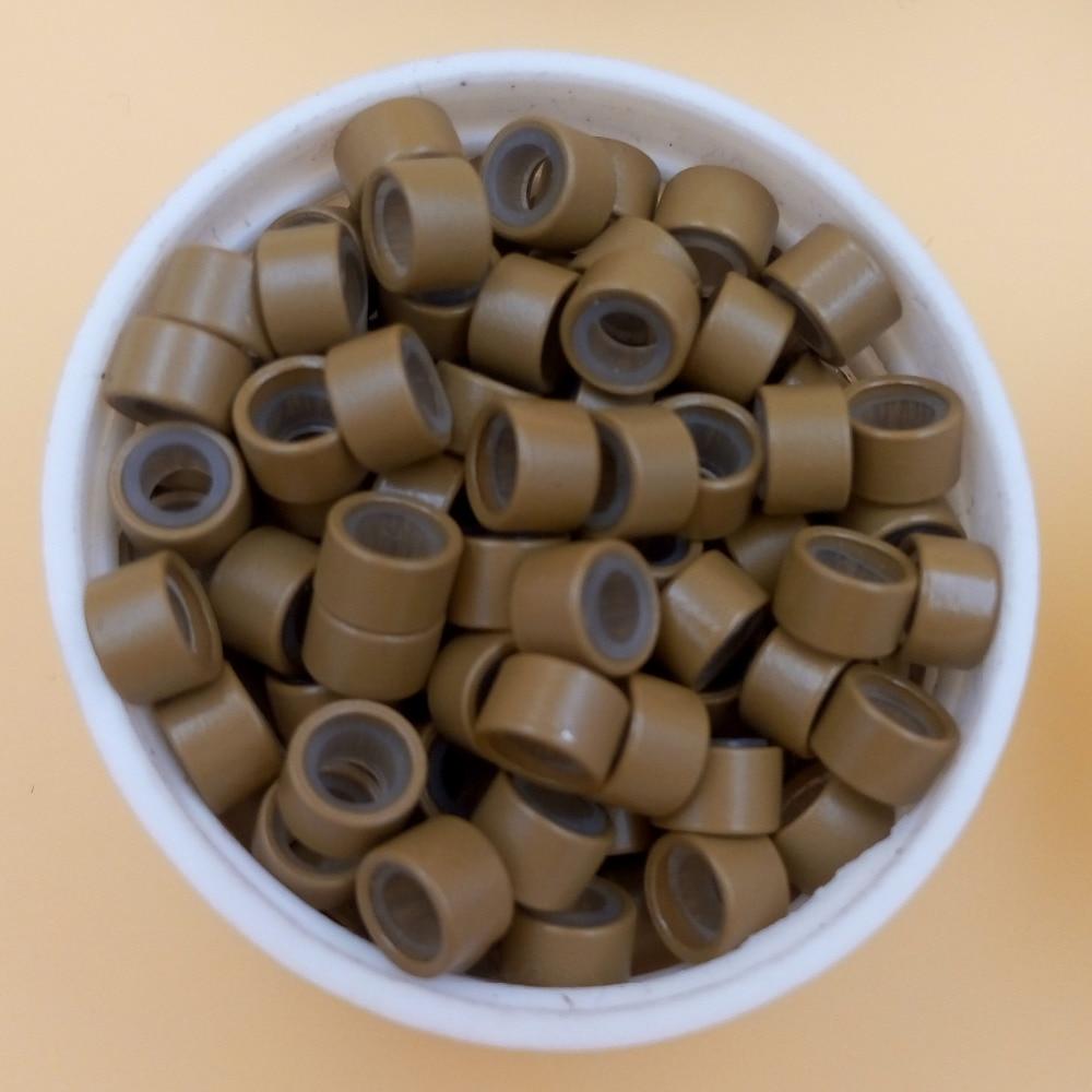 1000pcs 5mm Микро Ring Beads Силиконовый Бис - Шаш күтімі және сәндеу - фото 5